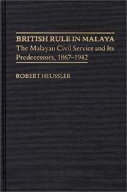 British rule in Malaya PDF