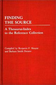 Finding the source by Benjamin F. Shearer