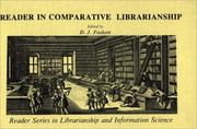 Reader in Comparative Librarianship PDF