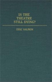 Isthe theatre still dying? PDF