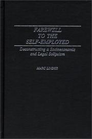 Farewell to the self-employed PDF