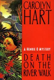 Death on the river walk by Carolyn G. Hart