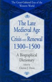 The Late Medieval Age of Crisis and Renewal, 1300-1500 PDF