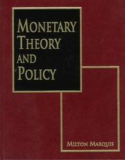 Monetary theory and policy PDF