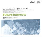 Law School Legends Future Interests PDF