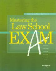 Mastering the law school exam PDF