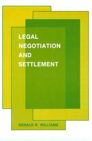 Legal negotiation and settlement PDF
