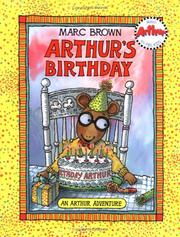 Cover of: Arthur's birthday by Marc Tolon Brown