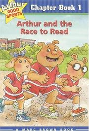 Arthur and the race to read by Stephen Krensky