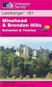 Minehead and Brendon Hills, Dulverton and Tiverton PDF
