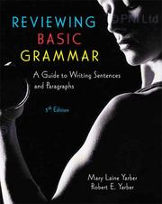 Reviewing basic grammar by Mary Laine Yarber