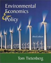 Environmental economics and policy PDF