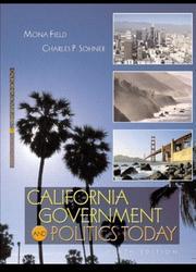California government and politics today PDF