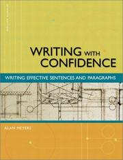 Writing with confidence by Alan Meyers
