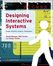Designing Interactive Systems by David Benyon