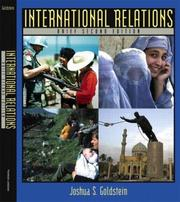 International relations by Joshua S. Goldstein