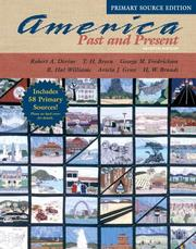 America Past and Present, Single Volume Edition, Primary Source Edition PDF