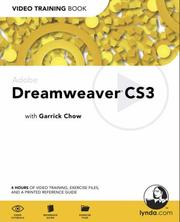 Adobe Dreamweaver CS3 by Garrick Chow