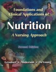 Foundations and clinical applications of nutrition PDF