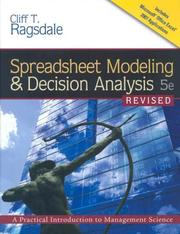 Spreadsheet Modeling and Decision Analysis PDF
