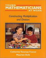Young mathematicians at work by Catherine Twomey Fosnot