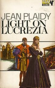 Cover of: Light on Lucrezia by Jean Plaidy