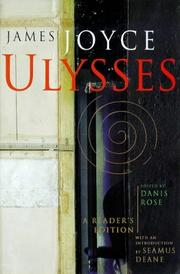 Ulysses - A Reader's Edition PDF