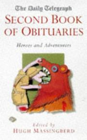 The Daily Telegraph Second Book of Obituaries PDF