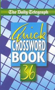 Daily Telegraph Quick Crosswords (Crossword) PDF