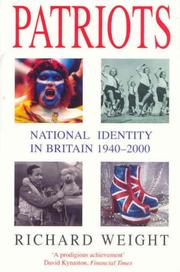 Patriots by Richard Weight