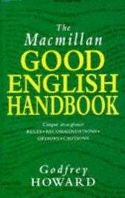The Macmillan Good English Handbook PDF