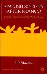 Spanish Society After Franco PDF