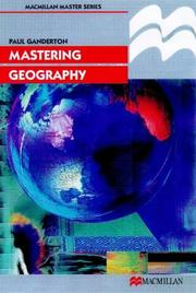 Mastering Geography (Palgrave Master) PDF