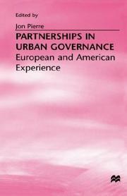 Partnerships in Urban Governance PDF