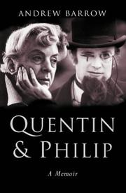 Quentin &amp; Philip by Andrew Barrow