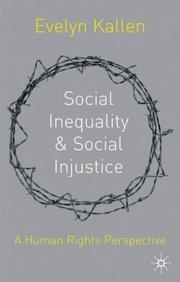 Social Inequality and Social Injustice PDF
