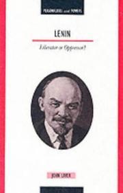 Lenin (Personalities & Powers) PDF