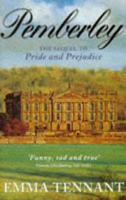 Cover of: Pemberley by Emma Tennant