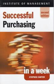 Successful Purchasing in a Week PDF