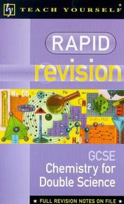 Rapid Revision Organiser (Rapid Revision: GCSE) PDF
