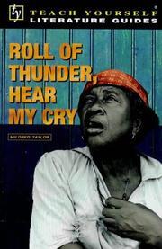 Roll of Thunder, Hear My Cry PDF