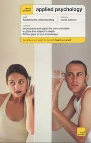 Teach Yourself Applied Psychology PDF