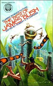 Cover of: BEST OF JAMES BLISH by James Blish