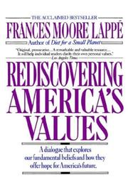 Rediscovering America's values PDF