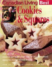 COOKIES &amp; SQUARES Canadian Living Best by Elizabeth and the Food Writers of CANADIAN LIVING Magazine BAIRD