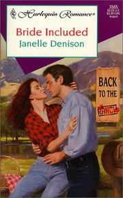 Bride Included (Back To The Ranch) PDF
