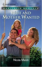 Wife And Mother Wanted PDF