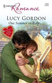 Cover of: One Summer In Italy... (Harlequin Romance) | Lucy Gordon
