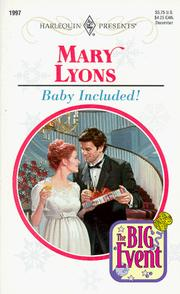 Baby Included (The Big Event) PDF