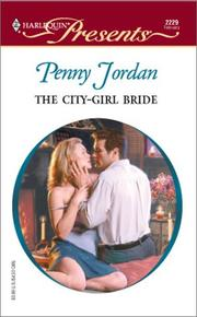 Cover of: The City - Girl Bride by Penny Jordan